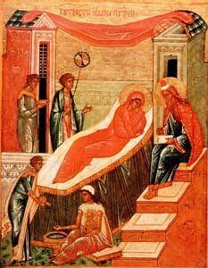 Рождество Иоанна св прор Предтечи и Крестителя Господня