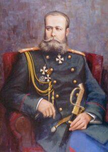 Добавим, мемориальная доска генералу М.Д.Скобелеву была установлена на фасаде Комендантского дома...