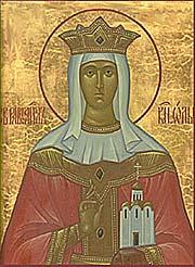 Равноапостольная Ольга, великая княгиня Российская, во святом Крещении Елена