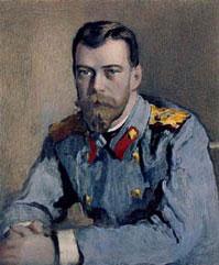 Николай II незадолго до отречения