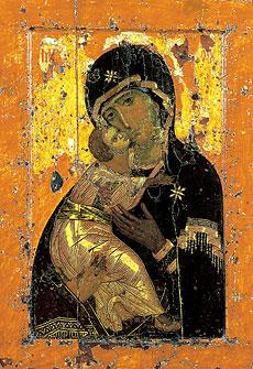 Икона Божией Матери Владимирская. Празднование 21 мая / 3 июня, 23 июня / 6 июля, 26 августа / 8 сентября