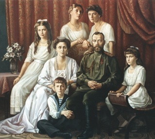 """""""Царская Семья"""" (картина В.В.Павлова)"""