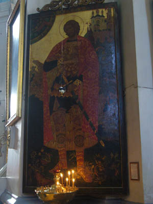 Св.блгв.кн.Александр Невский. Икона архидиакона Серафима (Вавилова)