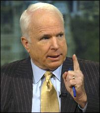 Кандидат в президенты США от республиканской партии сенатор Джон Маккейн