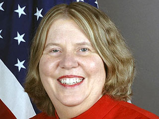 Посол США в Белоруссии Карэн Стюарт