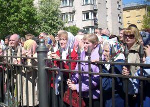 На открытии памятника Иоанну Кронштадтскому в Кронштадте
