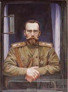 Государь Николай, худ. Ф.Москвитин