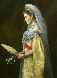 Великая Княгиня Елизавета Феодоровна, худ. Филипп Москвитин