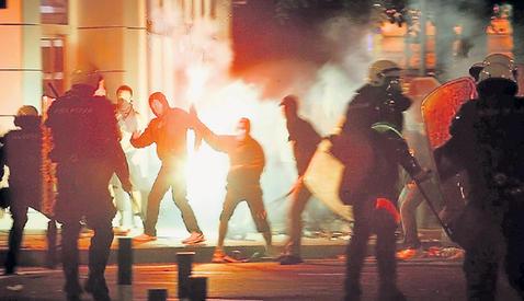 Столкновения в Белграде 29 июля 2008 г.