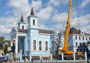 Католический храм Воздвижения святого Креста Господня (Казань)
