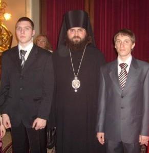 Владыка Феофилакт с лидерами православных молодежных организаций