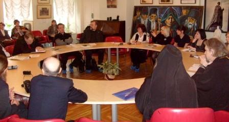 Заседание Клуба православных журналистов 17 февраля 2009 года