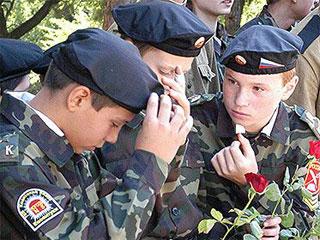 Участники военно-патриотических клубов