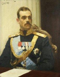 Великий князь Михаил Александрович (этюд И.Е.Репина, 1901 г.)