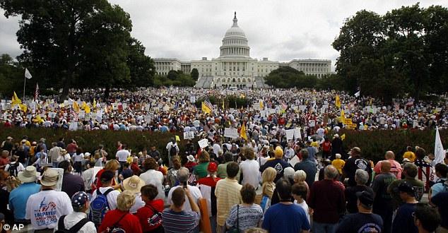 Митинг консерваторов в вашингтоне
