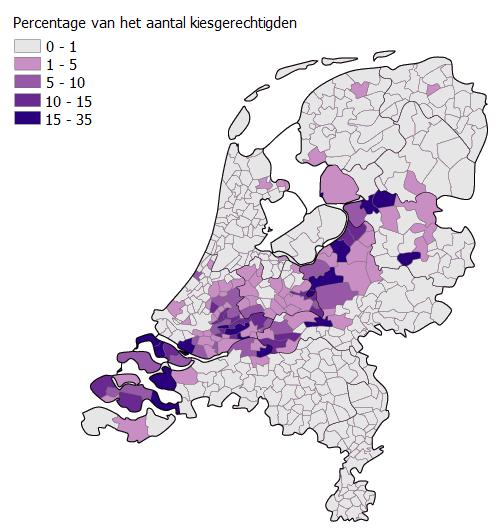 Библейский пояс Нидерландов