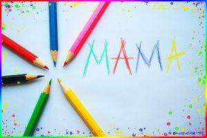 Слово *Мама*
