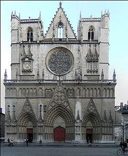 Собор Иоанна Крестителя в Лионе