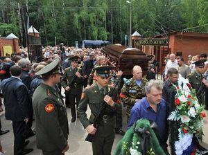 Похороны Юрия Буданова