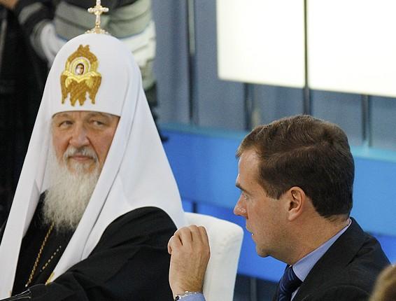 5 ноября 2011 года после посещения X церковно-общественной выставки-форума