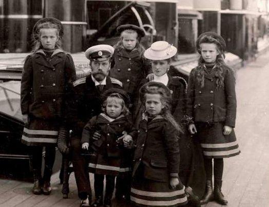 Царская Семья, 1907 г.