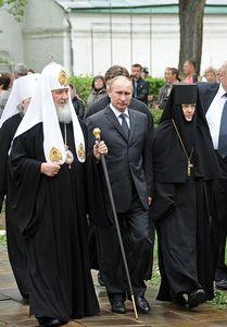 Владимир Путин и Святейший Патриарх Кирилл