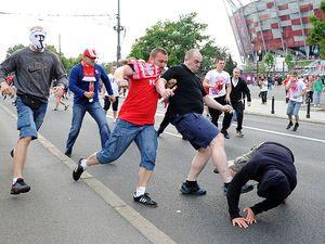 Столкновение польских и российских фанатов