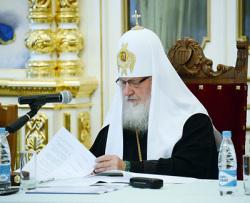 Патриарх Кирилл на Валааме 2012г