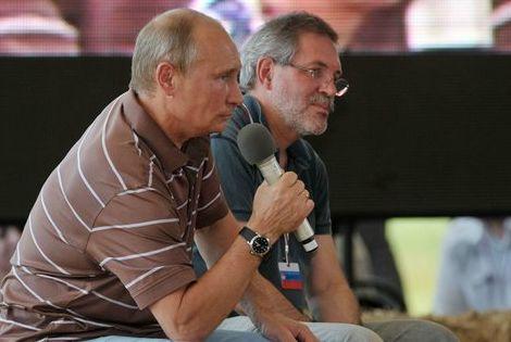 Владимир Путин отвечает на вопросы участников молодёжного образовательного форума *Селигер-2012*