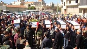 Похороны христиан в Сададе