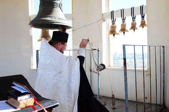 Звонница в храме Св.Праотцев в Хевроне