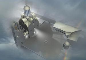 Проект храма польского архитектора Е.Устиновича
