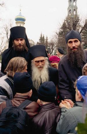 Троице-Сергиева Лавр. Архимандрит Кирилл (Павлов)
