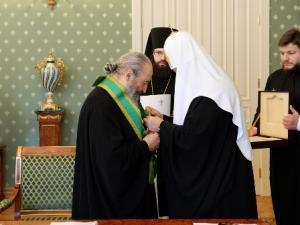 Святеший Патриарх Кирилл и Блаженнейший митрополит Онуфрий