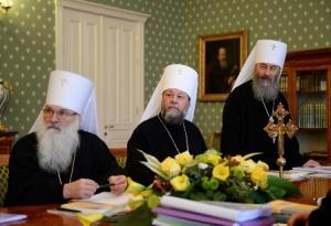 Заседание Синода РПЦ 23 октября 2014 года