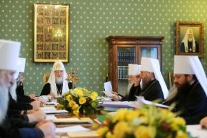 Заседание Св. Синода РПЦ 23 октября 2014 года