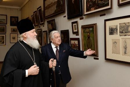 Глазунов и Патриарх