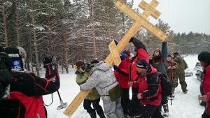 Отец Федор Конюхов помолился о жертвах политических репрессий