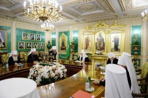 Св. Синод РПЦ, 13.06.2016 г.
