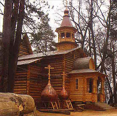 Новая Церковь Успения села Петрово-Дальнее