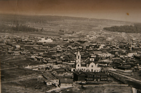 Старопышминск и Сретенская церковь