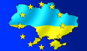 Коллаж Украина – ЕС
