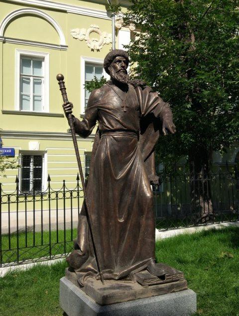 Памятник царю Ивану Грозному в Москве
