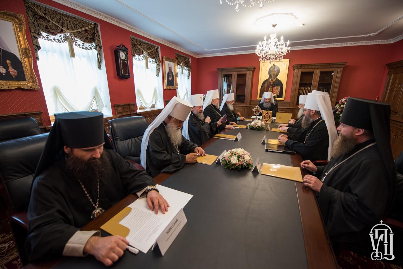 Заседание Св. Синода УПЦ, 26 июля 2017 года