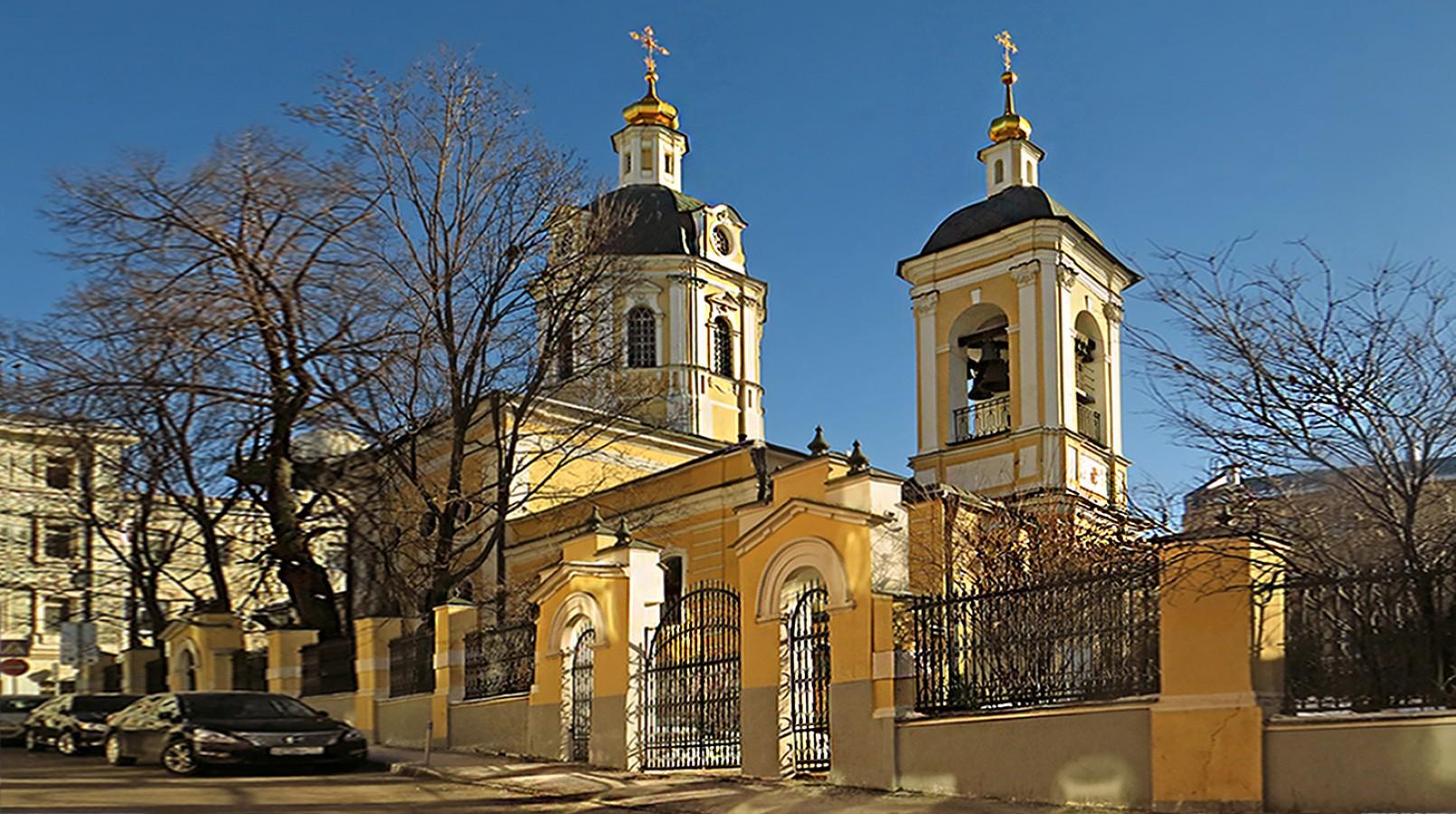 Церковь XVIII века наРождественке передали всобственность РПЦ