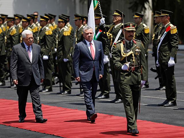 Теплая встреча: короля Иордании принимали вРамалле под «Полюшко-поле»