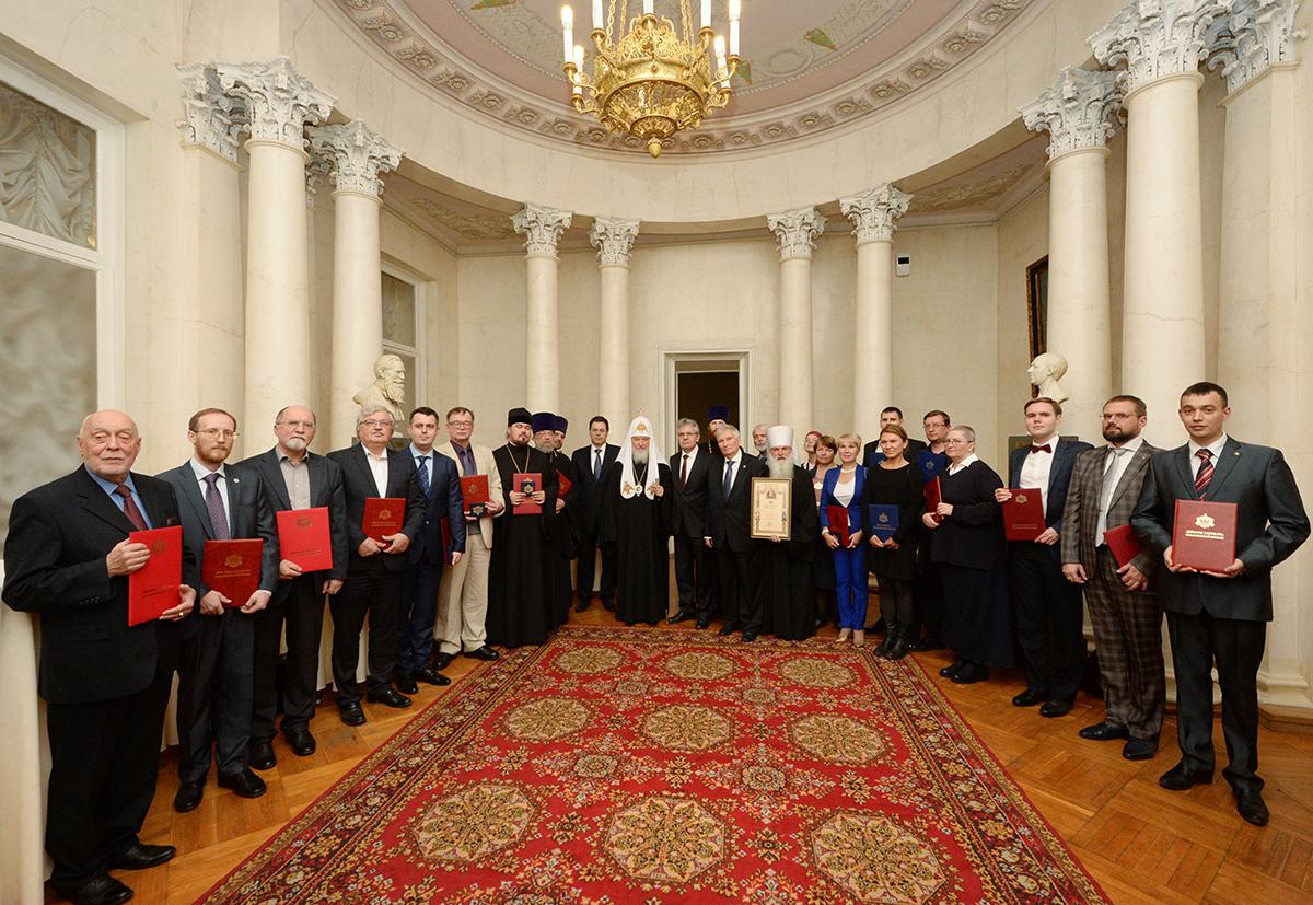 Лауреаты Макариевской премии за 2016/2017 годы