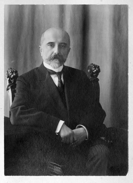 Дед, Александр Алексеевич Хвостов. Фото из архива А.П. Арцыбушева