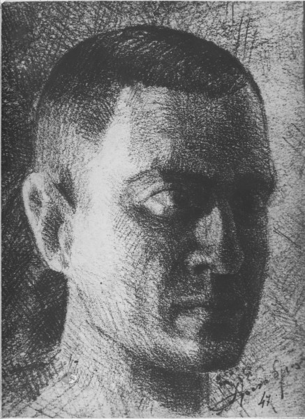 А.П. Арцыбушев. Автопортрет