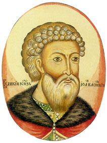 Великий князь Иван III. Миниатюра из Титулярника, XVII в.